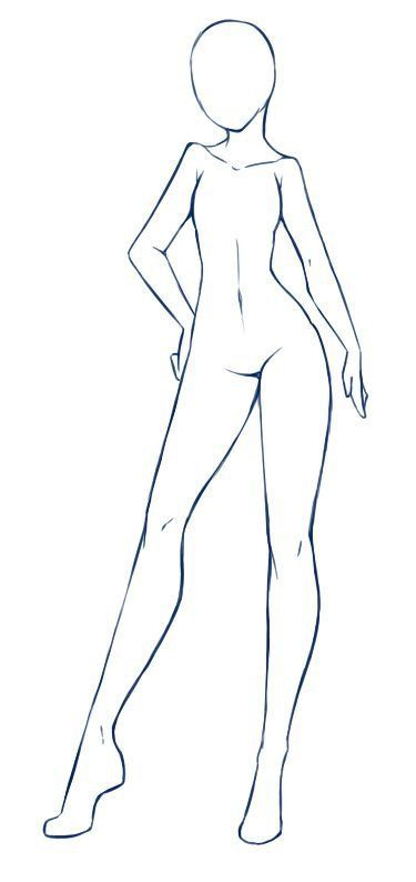 Lilith Body Type Drawing Body Poses Body Drawing Anime Drawings Tutorials