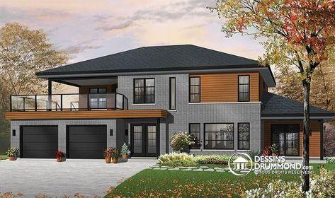 59 best Modèles de maison Jumelée, Plans de Duplex, Plans de Triplex - Dessiner Maison D Gratuit