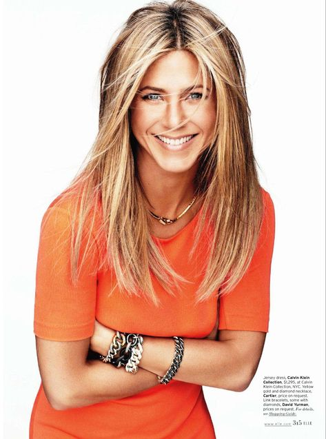jennifer aniston. Great hair