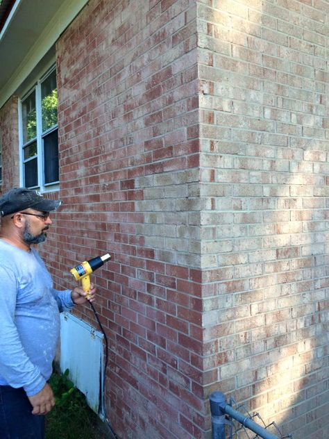 Brick Staining Technology In 2019 Painted