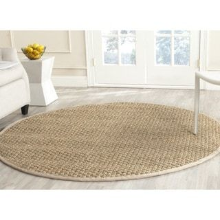 Safavieh Natural Fiber Marina Casual Border Seagrass Rug Natural Fiber Rugs Seagrass Rug Natural Rug