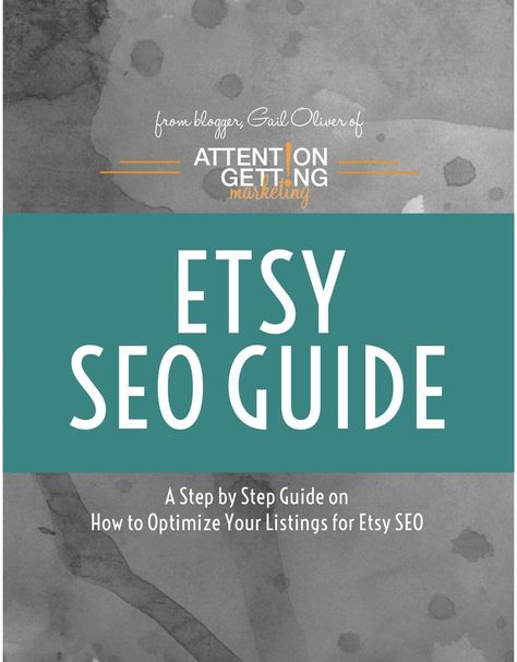 SEO Help -- Etsy SEO Guide for Etsy Search Engine Optimization – How to Write and SEO Keyword Etsy L