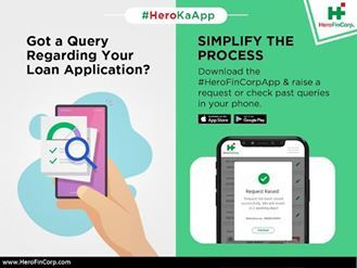 Use The Hero Fincorp Customer Service App For Complete Loan Details Hero Fincorp Blog In 2020 Retail Customer Loan Application Finance Loans