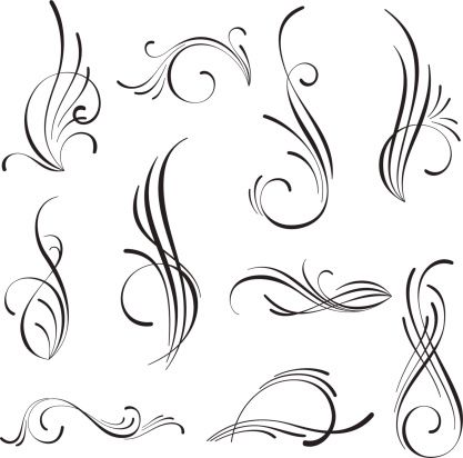 Vectorized Scroll Design Eps 8 Cdr 9 Svg And High Re Jpg