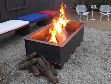 Cool Metal Fire Pit Designs: 25+ Best Ideas About Portable