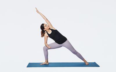 10 Chair Yoga Poses For Home Practice Chair Pose Yoga Side Angle Pose Yoga Poses