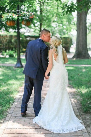 Couple Wedding Photo Idea Bride And Groom The Back Find Your Photographer On Weddingwi Wedding Photography Bride Wedding Couples Wedding Photography Styles