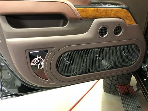Just Wrapped Up This Beast Of An Install New Chevy 2500hd With Dd Audio Amps Ten Vo8 Mids 6 Vob Custom Car Interior Custom Car Audio Car Audio Installation