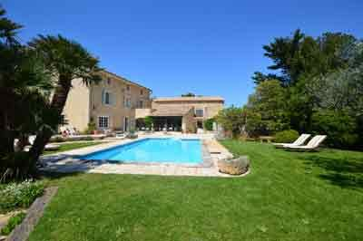 House For Sale In Branoux Les Taillades Gard Beautifully Renovated Large 17th Century Stone House St Stunning Interior Design Stone House Houses In France