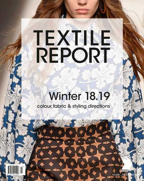 Textile Report Magazine Subscriptions   Buy at Magazine Cafe - Single Issue & Subscription Specialist in USA