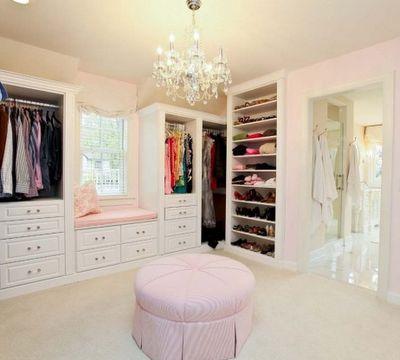 Lovely Luxus Kleiderschrank begehbar Hocker begehbare Kleiderschr nke Pinterest Walking closet Room goals and Haus