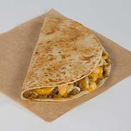Beefy Mini Quesadilla Quesadilla Food Taco Bell