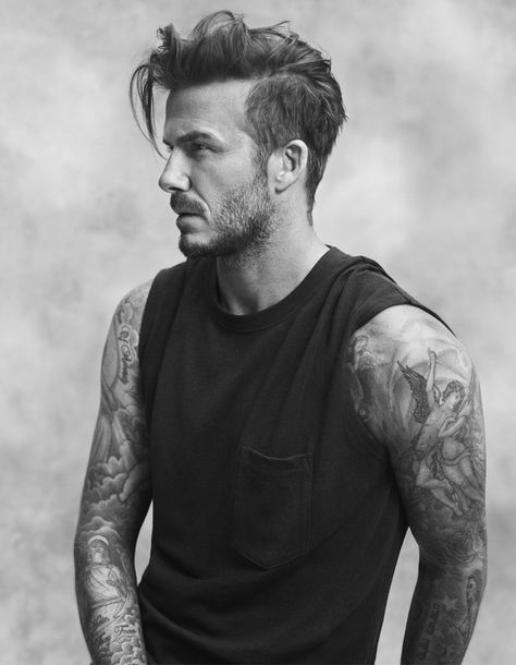 But there is a LOT of this. | David Beckham's New H&M Ads Are So Beautiful They Should Be Illegal