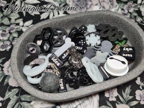 Dark Charm Casting Set Charm-Casting Divination Doodads | Etsy