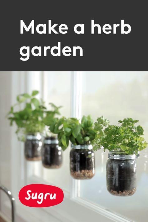 Make A Stunning Window Herb Garden To Grow Culinary Herbs Window
