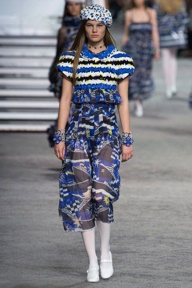 See all the Collection photos from Chanel Spring/Summer 2019 Resort now on British Vogue