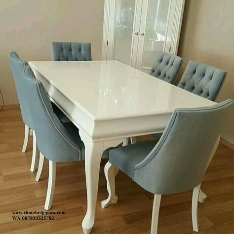 set meja makan | ide dekorasi rumah, furniture, home decor