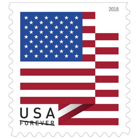 Forever 2019 Us Flag Book Of 20 Stamps Walmart Com Usps Stamps Forever Stamps Buy Postage Stamps