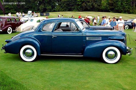 1939 LaSalle Opera coupe