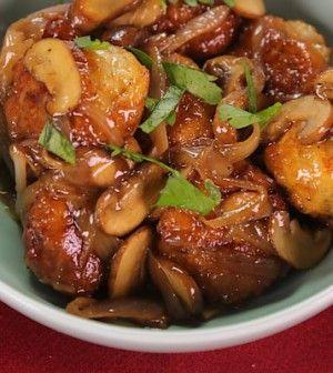 MICHAEL SYMON Chicken Meatballs Marsala - Chew Recipes