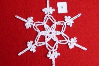A Free Crochet Snowflake Pattern For You Easy And Fast To Do And Good For Begin Crochet Snowflake Pattern Free Crochet Snowflake Patterns Crochet Snowflakes