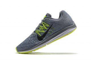 91bb174dea662 Nike Air Zoom Winflo 5 Gunsmoke Oil Grey Thunder Grey AA7406 006 Mens Running  Shoes