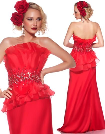 MacDuggal 80121R Dress at Peaches Boutique
