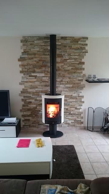 Central Design Fireplace Eva 992 Modern Fireplace 화덕