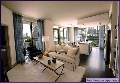 Post Alexander apartments are located in the center of flourishing ...