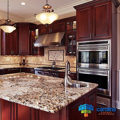 Cherry Kitchen Cabinets Wood Cabinets 10x10 Rta Kitchen Cabinets Free Shipping Cherry Cabinets Kitchen Kitchen Remodel Cost Kitchen Remodel Small