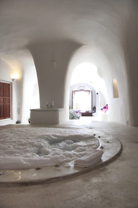 Breathtaking Luxury Hot Tub Ideas to Inspire You - Bathroom Ideas Dream Bathrooms, Dream Rooms, Romantic Bathrooms, Luxury Bathrooms, Contemporary Bathrooms, White Bathrooms, Master Bathrooms, Futuristic Architecture, Interior Architecture