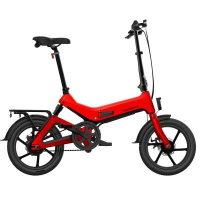 Samebike Jg7186 Folding Electric Moped Bike 250w Motor 25km Per Hour