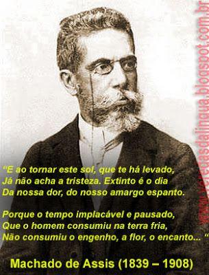 Machado De Assis Poemas Com Imagens Machado De Assis Poema