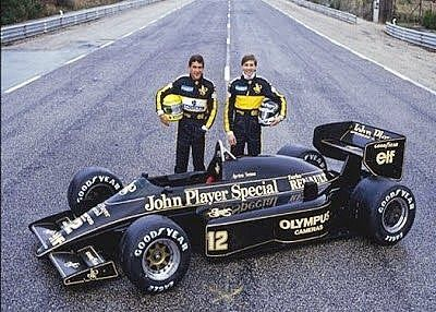 Ayrton Dumfries Lotus 1986 98t F1 Formula1 Ferrari Mclaren Vintage Rush Retro Race Team Racing Racing Lotus Car Ayrton Senna