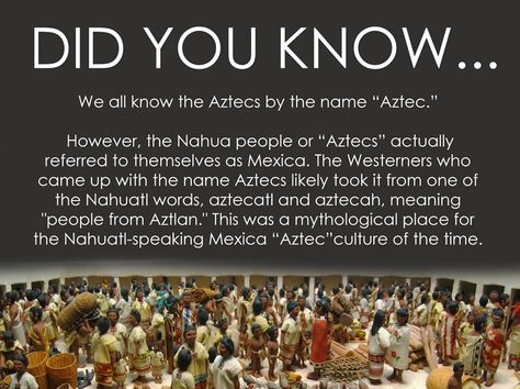 ten facts about the aztecs