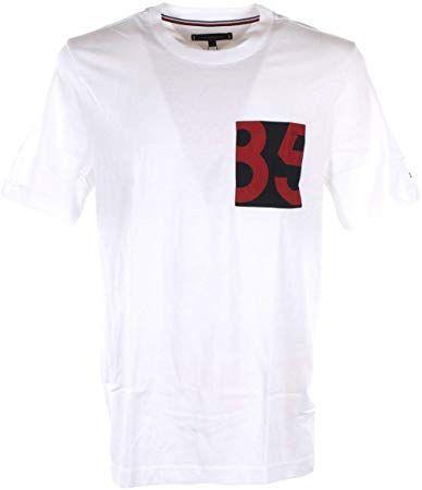 best service 74c40 b1091 Amazing offer on Tommy Hilfiger T-Shirt Uomo S Bianco ...