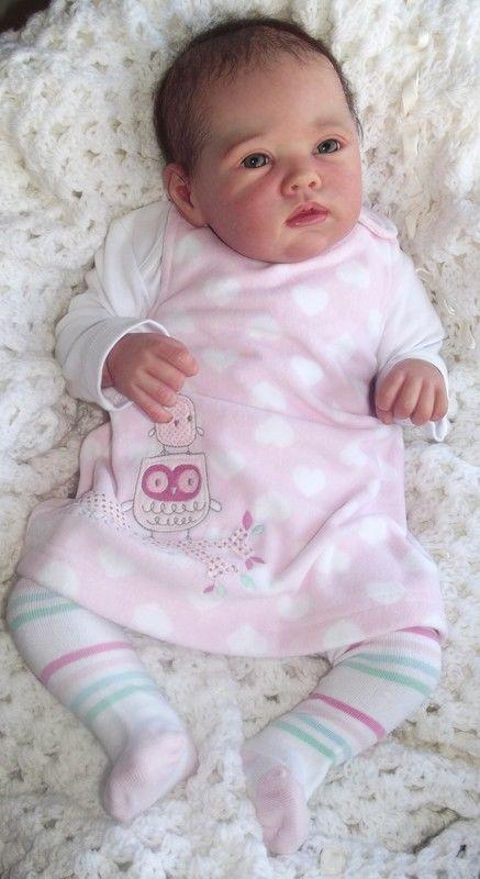 Reborn Baby Girl Porsha By Romie Strydom Little Blossoms Nursery Romiestrydom Baby Girl Dolls Silicone Reborn Babies Reborn Baby Girl