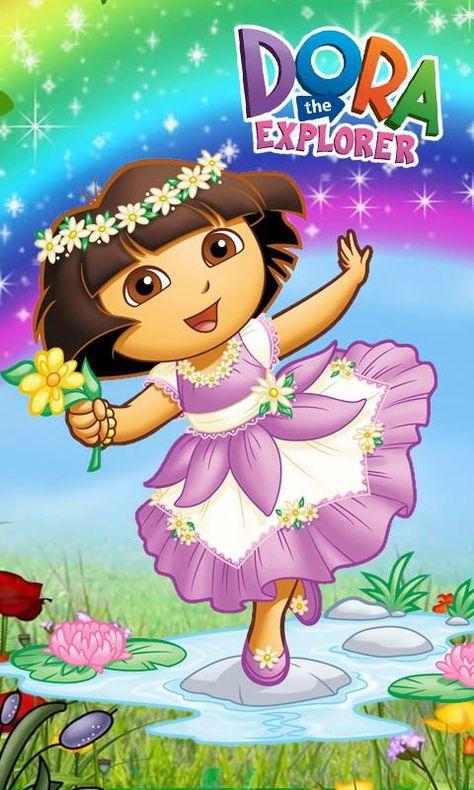 Dora The Explorer Wallpaper Hd Download Dora Pinterest Dora Dora Wallpaper Dora The Explorer Images Cute Cartoon Images