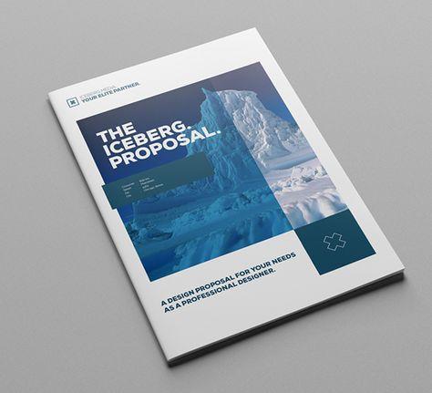 Elite Design ProposalMinimal and Professional Project Proposal - proposal cover page design