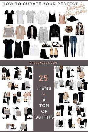 Capsule Wardrobe 2020 Fall.Build Your Perfect Capsule Wardrobe Curate Your Capsule