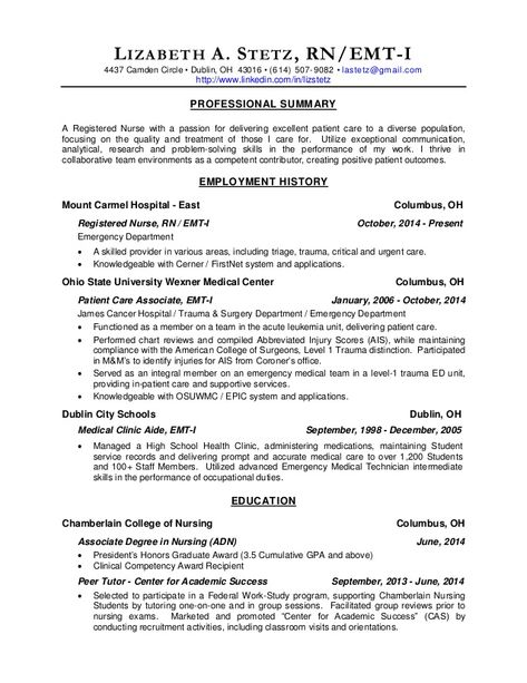 Student Resume Example Sample Resumes For Students -   www