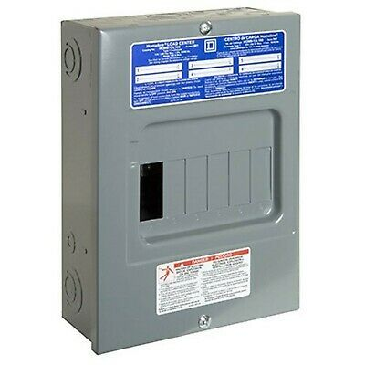 Sponsored Ebay Square D By Schneider Electric Hom612l100scp Homeline 100 Amp 6 Space 12 Circ In 2020 With Images Electrical Breaker Box Electrical Breakers Circuit