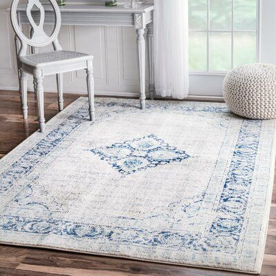 Power Loom Light Blue Rug Rug Size Rectangle 9 10 X 14 In 2020 Light Blue Rug Area Rugs Blue Rug