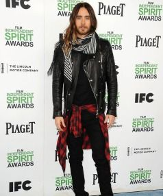 UNCONVENTIONAL: Jared Leto has stood apart from the over-styled Hollywood crowd with a refreshing take on men's style.