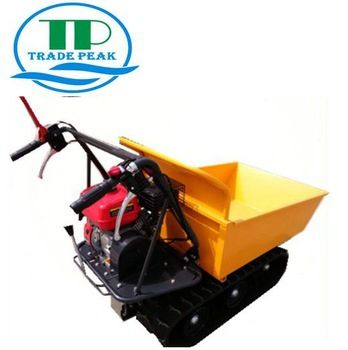 Tracked Dump Truck Dumper Qtp300b With 6 5 Hp And 196 Cc Loncin Engine This Ama Transporter Has A Capacity Of 300 Kg And Is Equipped With 3 Forward And 1 Rever
