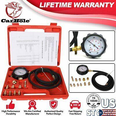 Engine Gauge Diagnostic Test Set 500PSI W//Case USA Engine Oil Pressure Tester