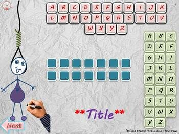 Guess The Word Powerpoint Template By Teach And Have Fun Tpt Guess The Word Powerpoint Templates Powerpoint Games