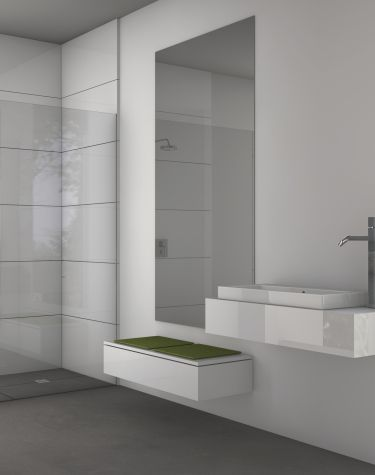 Qboard® - Systembauplatte | bathroom ideas | Pinterest