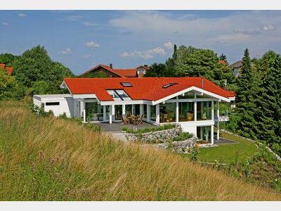 16 besten DAVINCI HAUS Kundenhaus - Osterseen Bilder auf - terrasse hanglage modern