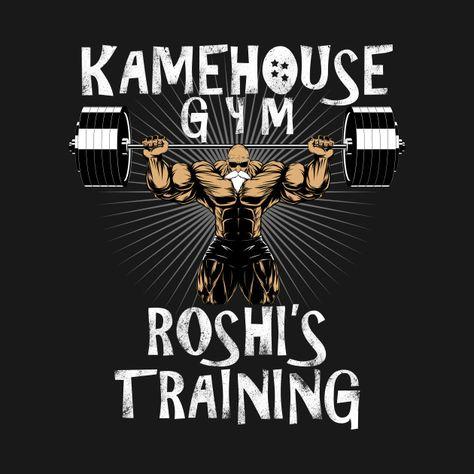 Awesome 'KAMEHOUSE+GYM' design on TeePublic!